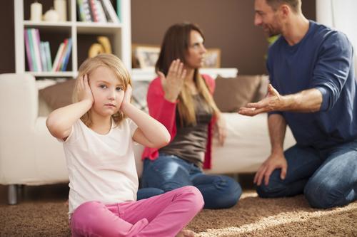 Kłótnia rodziców Psycholog
